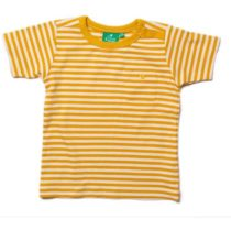 Little Green Radicals Gold Stripe T-shirt-0