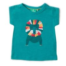 Little Green Radicals Leo Lion Light as Air Tee-0