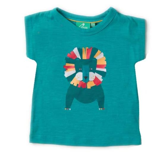 Little Green Radicals t-shirt Leo Lion Light as Air Tee