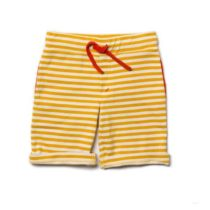 Little Green Radicals Gold Sunshine Beach Short-0