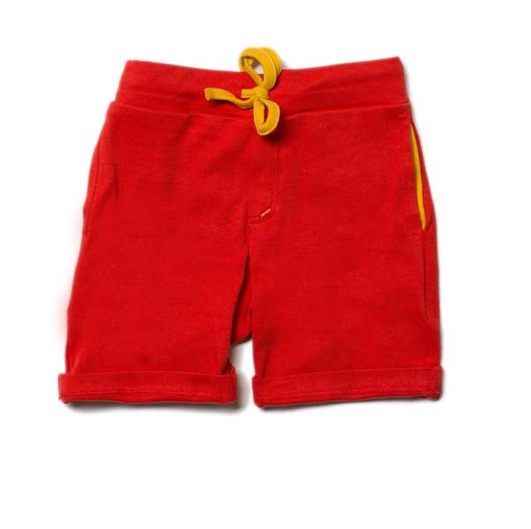 Little Green Radicals Red Beach Short