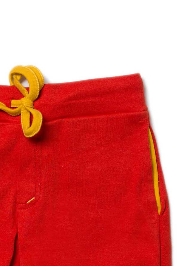 Little Green Radicals Red Beach Short-14454