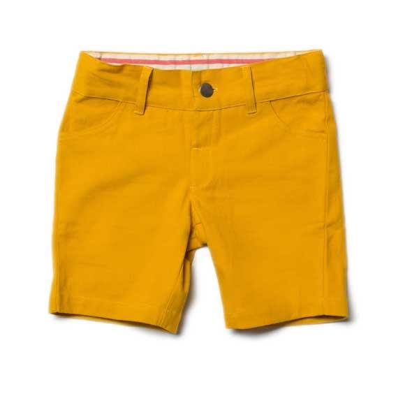 Little Green Radicals Gold Sunshine Short