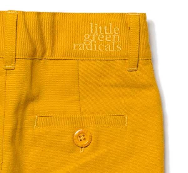 Little Green Radicals Gold Sunshine Short-14519