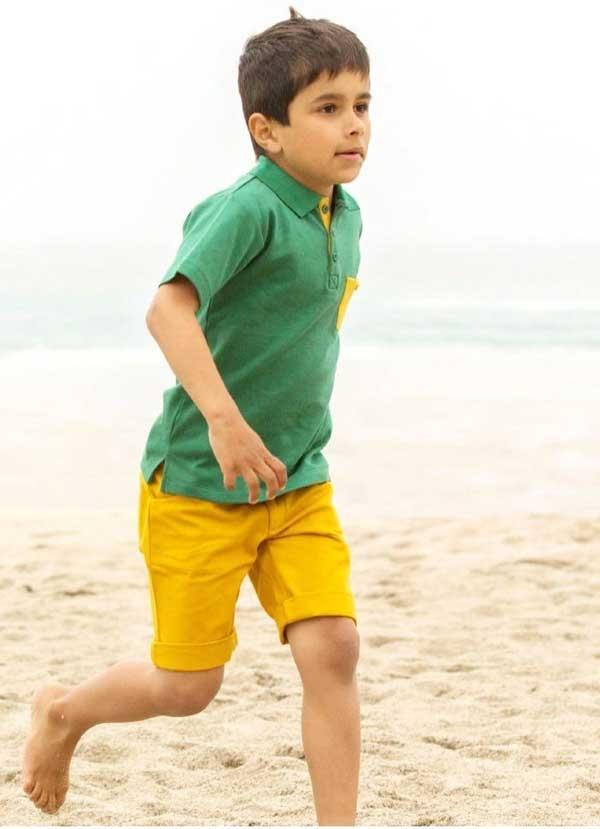 Little Green Radicals Gold Sunshine Short-14522