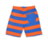 Toby Tiger short Orange/Blue stripe-13971