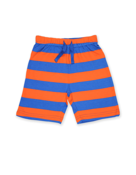 Toby Tiger short Orange/Blue stripe