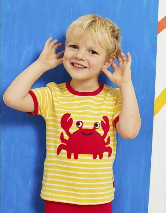 Toby Tiger t-shirt Crab-13921