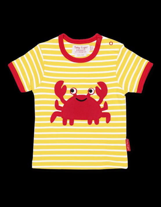 Toby Tiger t-shirt Krab