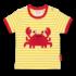 Toby Tiger t-shirt Crab-0