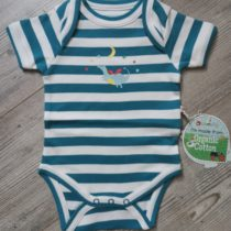 Piccalilly romper Magic Dragon streep