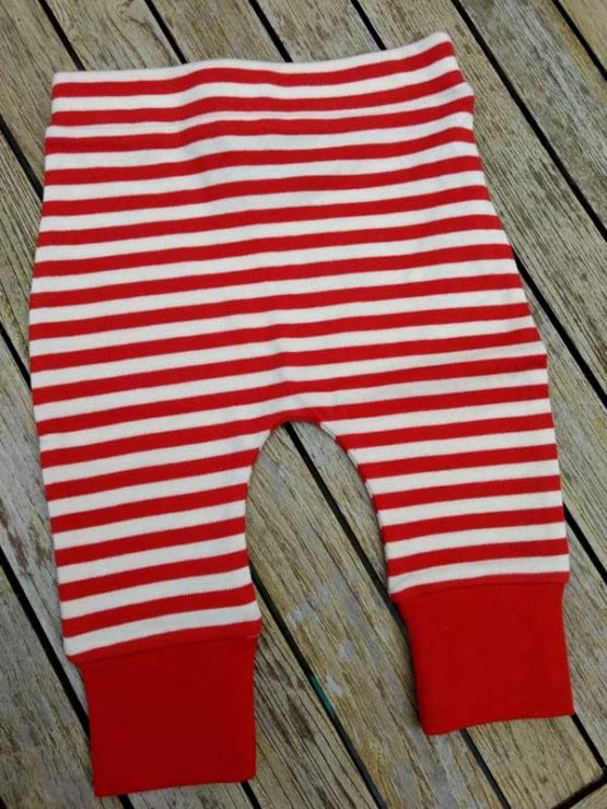 Little Green Radicals Red Stripes Bottoms