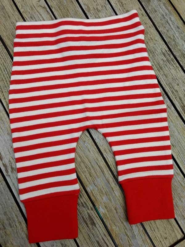 Little Green Radicals Red Stripes Bottoms