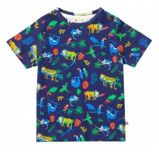 Piccalilly t-shirt Safari all-over print