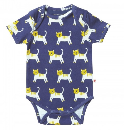 Piccalilly Romper Hello Tiger
