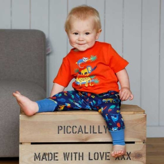 Piccalilly t-shirt Safari-14996
