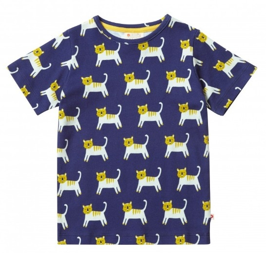 Piccalilly t-shirt Hello Tiger