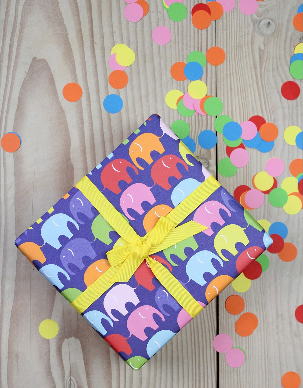 WRAPMULTIELLY+Multi+Elly+Wrapping+Paper