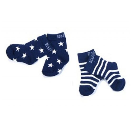 Blade & Rose sokken marineblauw/wit