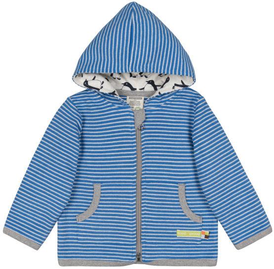 Loud + Proud hoodie Pinguïn cobalt