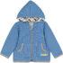 Loud + Proud hoodie Pinguin cobalt