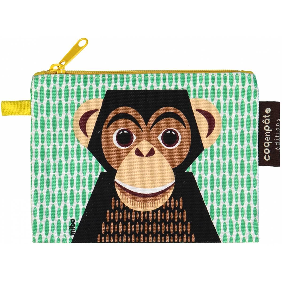 Coq en Pâte portemonnee Chimpansee