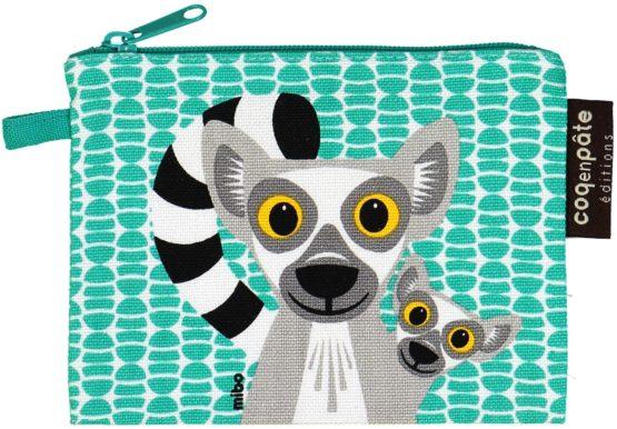 Coq en Pâte portemonnee Lemur