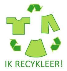 kleding recyclen