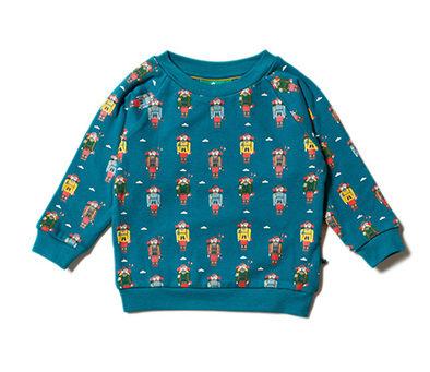 Little Green Radicals sweater Climb the Mountain