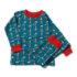 Little Green Radicals pyjama Night Sky Rocket