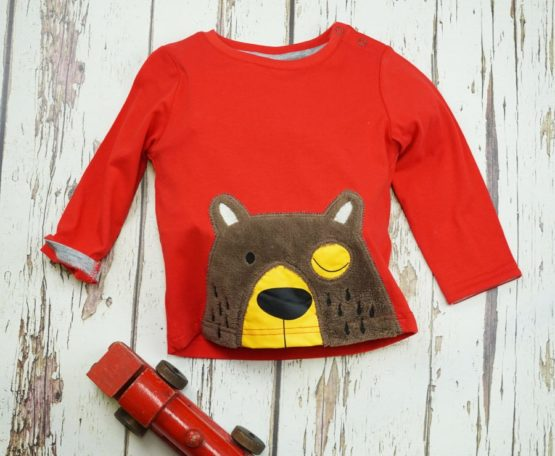 Blade & Rose longsleeve Brown Bear