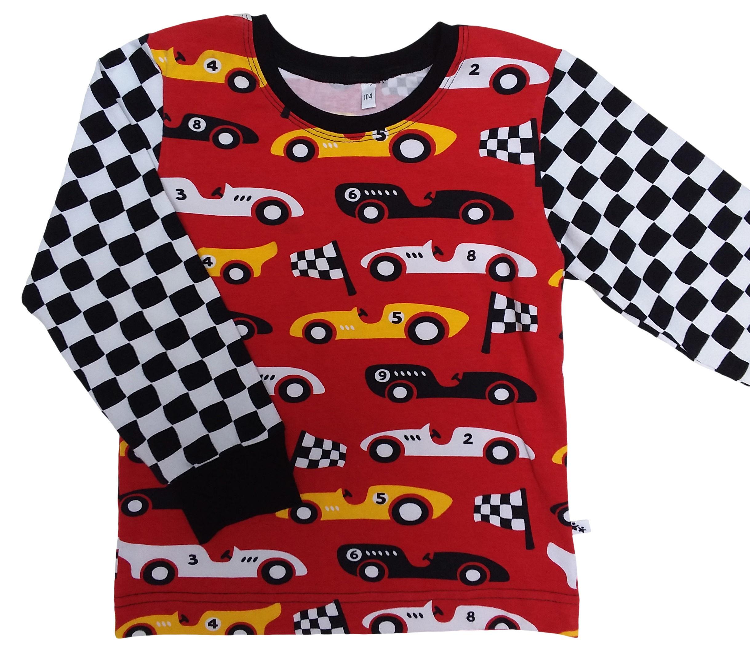 Joos longsleeve Racewagens – 86/92