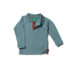 Little Green Radicals longsleeve polo Winter Blue