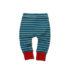 Little Green Radicals broekje Winter Blue Stripes