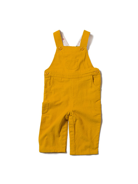 Little Green Radicals dungaree Gold Classic