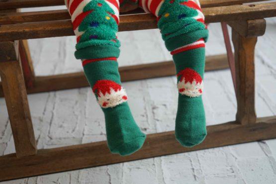 Blade & Rose kerst sokken Elfje – 6-12 maand