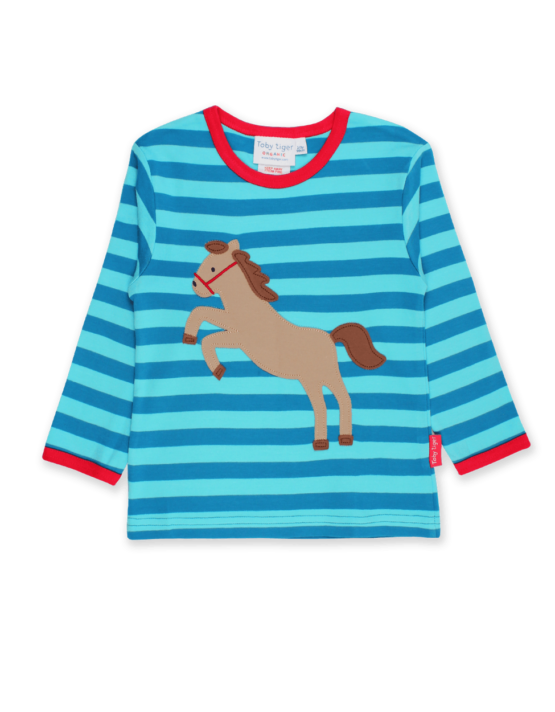 Toby Tiger longsleeve shirt Paard