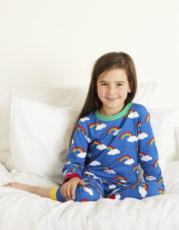 Toby Tiger pyjama Regenboog