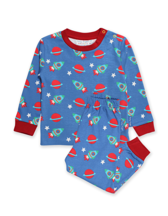 Toby Tiger pyjama Space (glow in the dark)