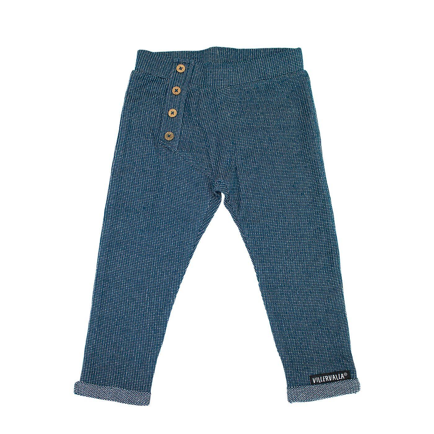 Villervalla Nordic Knit broekje Marineblauw