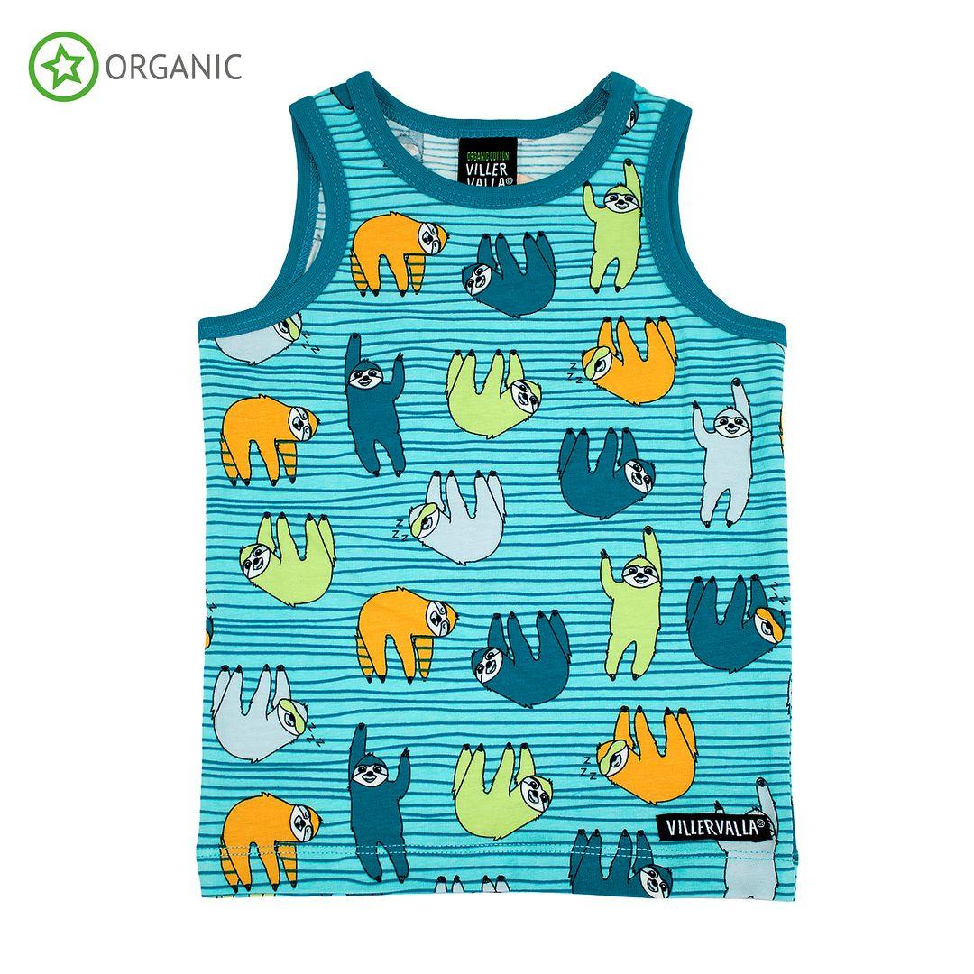 Villervalla hemd Sloth blauw