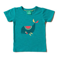 Little Green Radicals t-shirt Whale Of A Time Tee