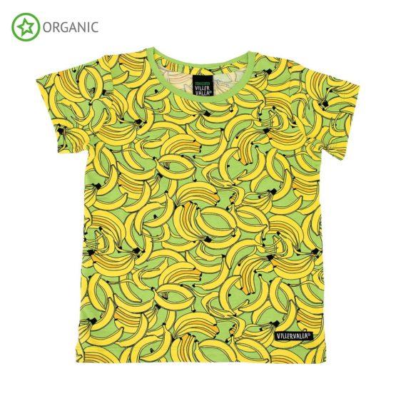 Villervalla t-shirt Banana
