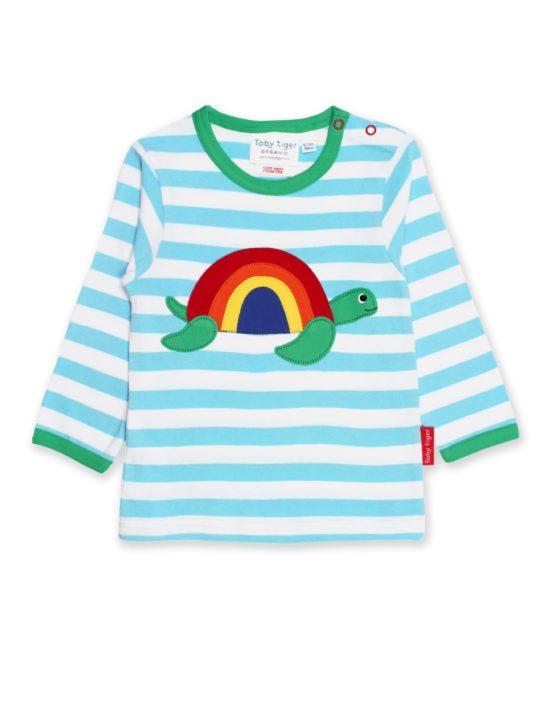 Toby Tiger longsleeve shirt Turtle Applique
