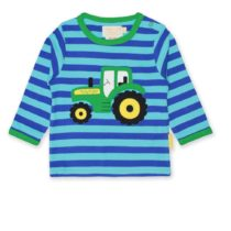 Toby Tiger longsleeve shirt Tractor Applique