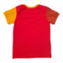 Joos t-shirt rood-roest-oker back