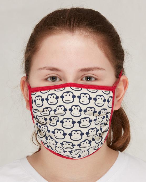 Loud + Proud mondmasker volwassenen aapjes