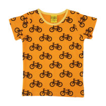 Duns t-shirt Bike Light Orange