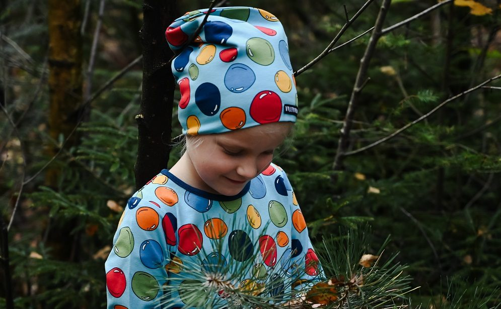 Vrolijke en kleurrijke kinderkleding
