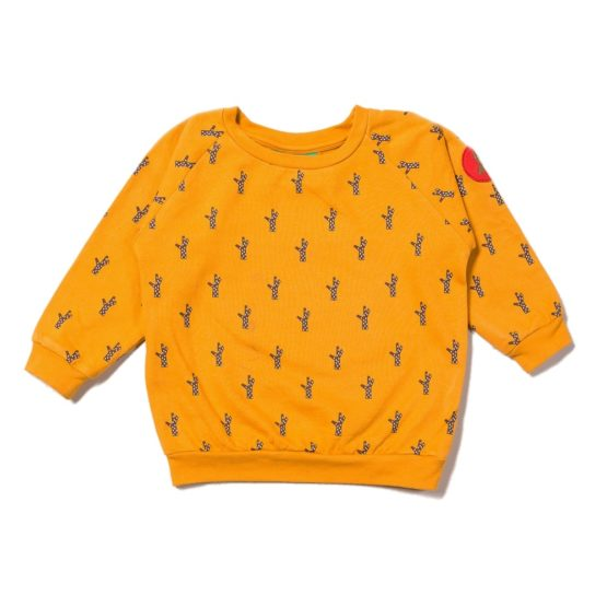 Little Green Radicals sweater Golden Forest